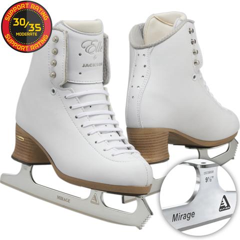 Patins à glace JACKSON ELLE FS 2130 / 2131 lames Mirage - PATINS A GLACE JACKSON - GREEN et GLACE Patinage et sportwear - Voir en grand