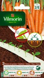 carotte 3 variétés melange vilmorin graine en ruban semence potager sachet semis
