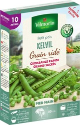 pois nain a grain ride kelvil vilmorin graine semence potager boite semis - Voir en grand