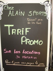 OFFRE PROMOTIONNELLE LOCATION SKI -  - ALAIN SPORTS - Voir en grand