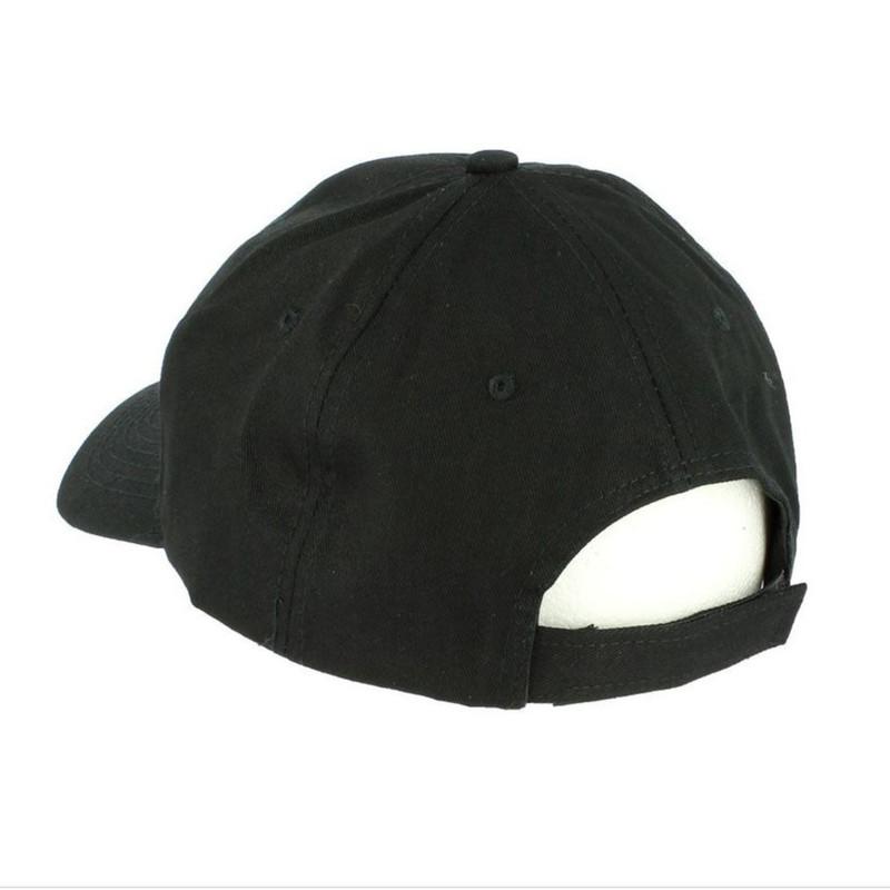 casquette broderie sécurité noir broderie au fil blanc confortable agréable à porter réglable p - Voir en grand