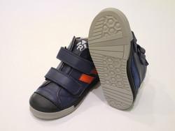 Chaussures velcros marine