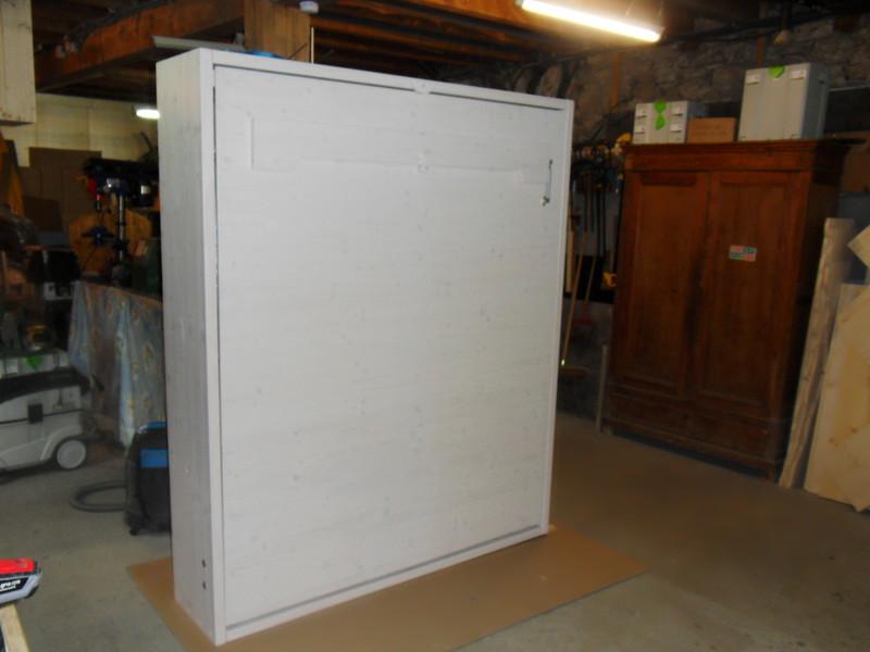 Lit escamotable en double couchage vercors literie for Fabriquer un lit rabattable