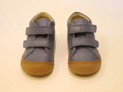 Chaussure bébé bleu velcros souple