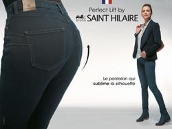 SAINT HILAIRE Pantalonnier  - vêtements BRUNO SAINT HILAIRE - LAURY BOUTIQUE - Voir en grand