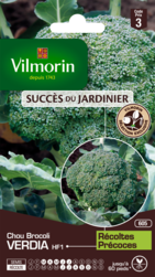 chou brocoli verdia hybride f1 vilmorin graine semence potager sachet semis - Voir en grand
