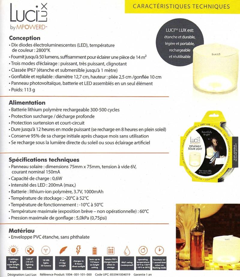 Lampe Solaire Gonflable Lucy Lux Le Pavot Bleu
