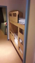 lit superposé deux barrière de securité - Lits superposés et bois de lit - VERCORS LITERIE  - Voir en grand