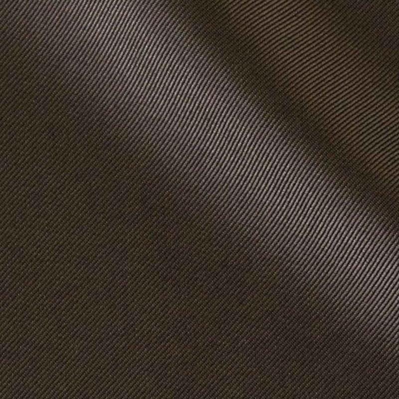 Échantillon de couleur de marron brillant en térylène - Voir en grand
