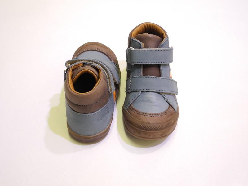 Chaussure montante garçon a velcros BELLAMY : BLAIZE - Chaussures pour bébés, enfants - BAMBINOS - Voir en grand