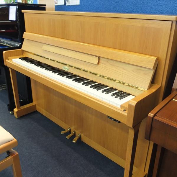 Piano droit occasion Kemble - Notre sélection pianos occasion:Yamaha,Sauter,Bech - ART & PIANO - Patrick BLERIOT - Voir en grand