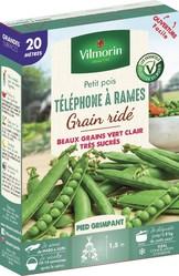 pois a rames a grain ride telephone a rames vilmorin graine semence potager boite semis - Voir en grand