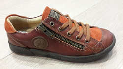 CHAUSSURES PATAUGAS modèle : JULIEN brun/roux - Voir en grand