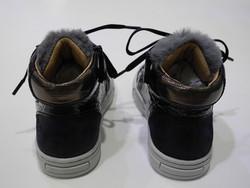 Chaussure montante marine