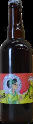 PLEINE LUNE LUNETTE BLANCHE BIO 75CL - BIERES ARTISANALES RHONE ALPES - La bulle grenobloise - Voir en grand