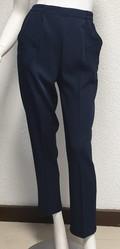 Pantalon marine - Voir en grand