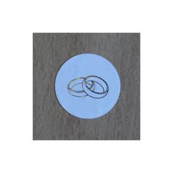 timbre de scellage 2 alliances, pour fermer, cacheter vos enveloppes, amalgame print grenoble