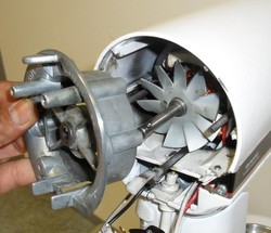 Démontage cplt support moteur robot kitchenAid classic ultra power - Voir en grand