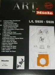 sac aspirateur Miele pochette super Air Clean pièce détachée - Pièces détachées et accessoires Miele - MENA ISERE SERVICE - Pièces détachées et accessoires électroménager - Voir en grand
