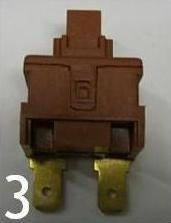 interrupteur Polti vaporetto vaporella 2 cosses poussoir