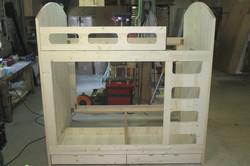 lit superposé en 140x190 - Lits superposés et bois de lit - VERCORS LITERIE  - Voir en grand