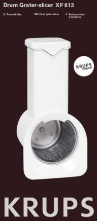 Rapeur éminceur Krups PREP EXPERT 9000 Robot KA901
