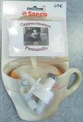 Cappucinatore blanc machine robot café Saeco - Voir en grand