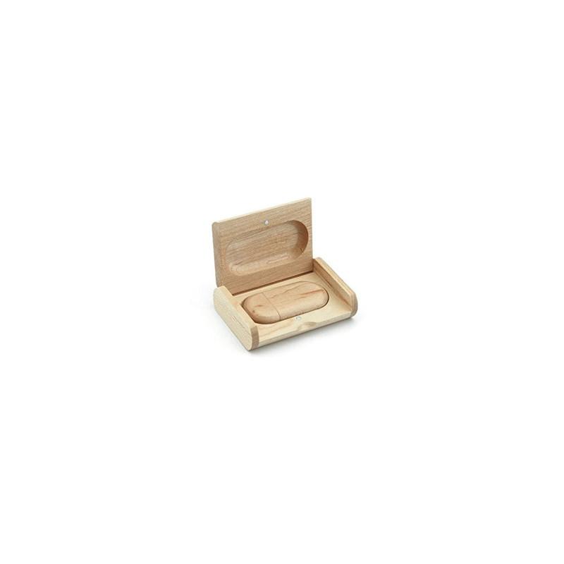 Clé Usb cadeau entreprise coffret en bois gravé 8 go, graveur amalgame grenoble  Connect - Voir en grand