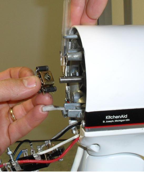 Remontage commande robot kitchenAid classic artisan ultra power - Voir en grand