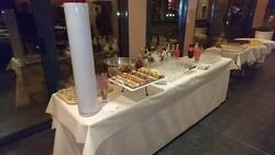Le buffet à l'intérieur
