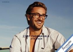 Façonnable des lunettes élégantes à la Française - Les lunettes de vue - THIERS OPTIQUE - Voir en grand