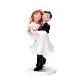 Sujet à Gâteau de mariage - Marié Porteur - Sujets & figurines de mariage - Patisserie Champon - Voir en grand