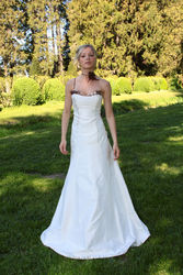 Robe de mariée modulable gourmandise version soirée - Voir en grand