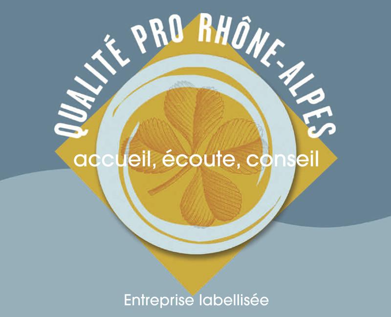 """Opticien labellisé """"Qualité Pro Rhône Alpes"""" - Services et Engagements - THIERS OPTIQUE - Voir en grand"""