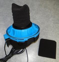 filtre mousse aspirateur aquavac industrial - Voir en grand