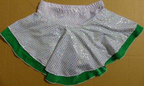 Jupette de Patinage  Ref JUPE136805 - 6-8 ans - JUPETTES DE PATINAGE - GREEN et GLACE Patinage et sportwear - Voir en grand