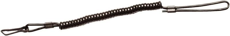 dragonne en kevlar noir pour sécuriser votre arme de poing à votre ceinturon  - Voir en grand