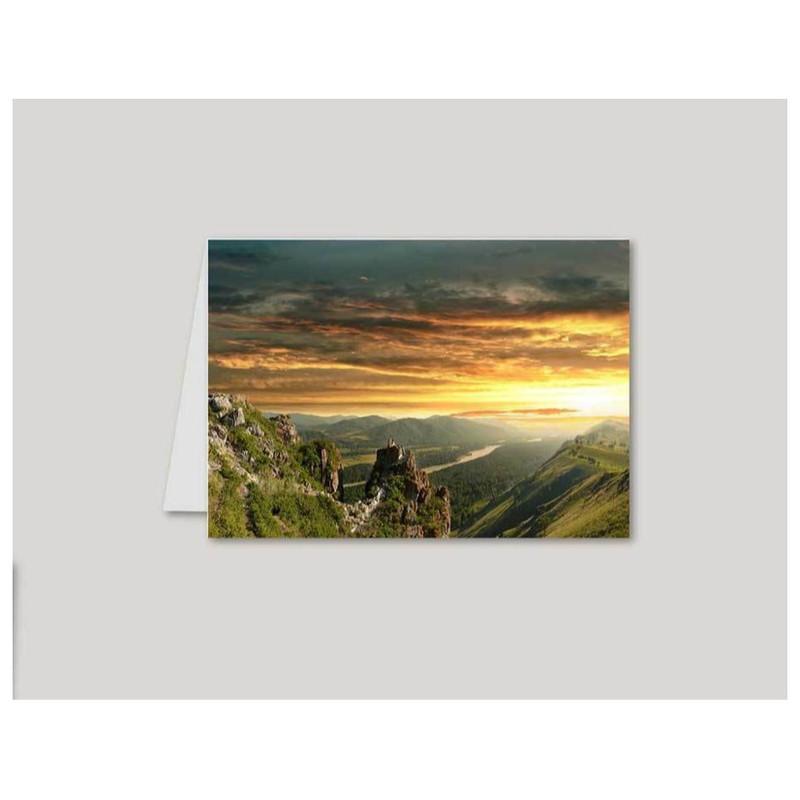 calendrier de poche Personnalisé  sublimé photo paysage, beauté de la nature, amalgame imprimerie gr - Voir en grand