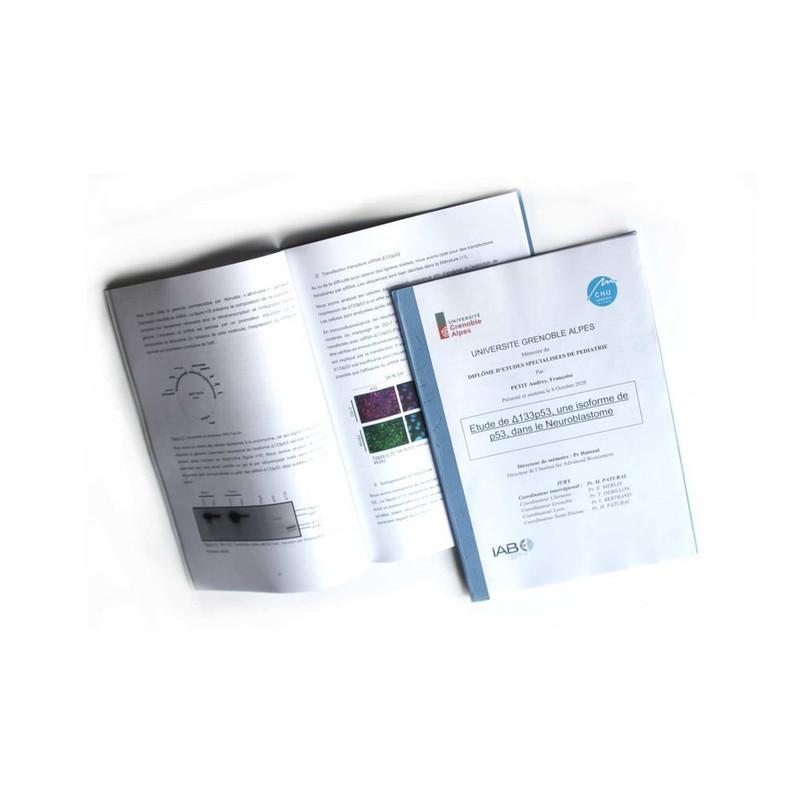 photocopies couleur, noir/blanc, reliure, spirale, collées à grenoble - Voir en grand