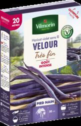 haricot nain mangetout velour violet vilmorin graine semence potager boite semis