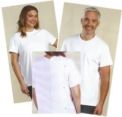 Tee shirt avec ouverture totale dans le dos - Voir en grand