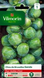 chou de bruxelles sanda vilmorin graine semence potager sachet semis - Voir en grand