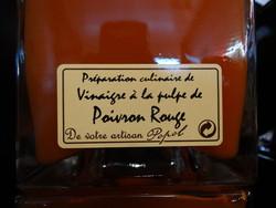 Vinaigre au Poivron Rouge - Voir en grand