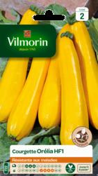 courgette jaune orelia hybride f1 vilmorin graine semence potager semis sachet - Voir en grand