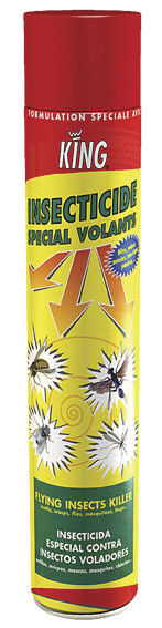 INSECTICIDE VOLANT KING 750ML  - NUISIBLES - OREA DIFFUSION - Voir en grand