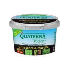 quaterna potager sobac poudre bacteriosol potager zero phyto micro-organisme developpement racinaire - Voir en grand