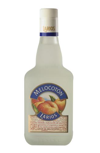 Licor de Melocoton Larios - Voir en grand