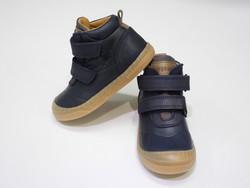Chaussure velcros marine