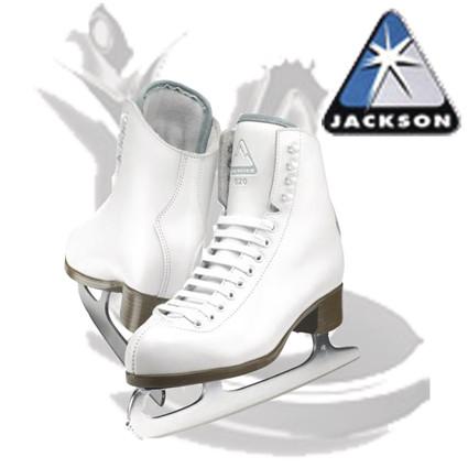 Patins à glace JACKSON GLACIER GS520 - LE COIN DES BONNES AFFAIRES - GREEN et GLACE Patinage et sportwear - Voir en grand