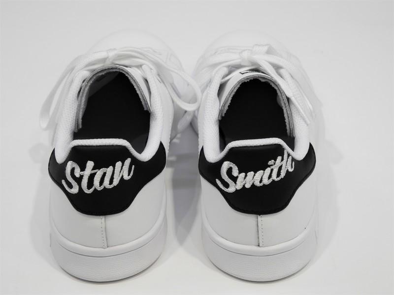Basket Stan smith noir - Voir en grand